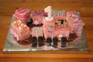 Eisenbahnkuchen Geburtstag