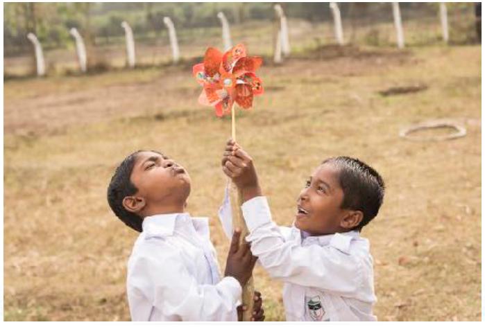 P & G Rewe und Kindernothilfe bauen Kinderschutzhaus